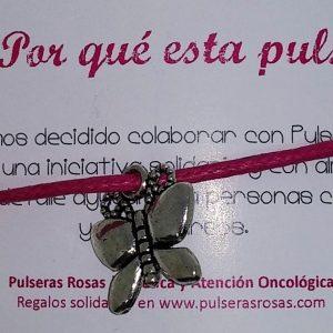 19. Mariposa 300x300 - Pulseras solidarias